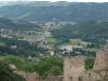 Vue du Chateau de Couzan