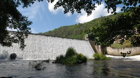 Barrage de la Beaume