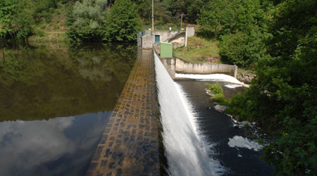 Barrage de la Beaume