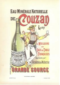 ancienne publicité Couzan Brault